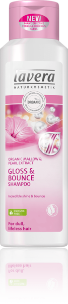 Lavera Gloss & Bounce shampoo