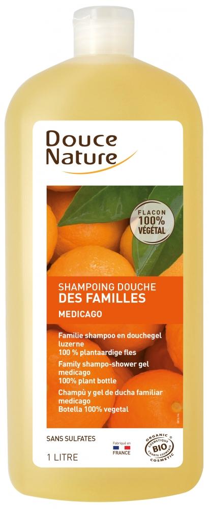 Douce Nature appelsiini suihkushampoo