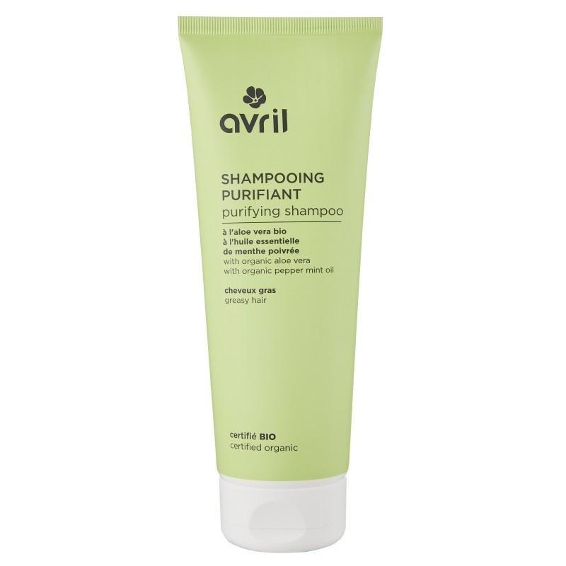 Avril shampoo helposti rasvoittuville hiuksille