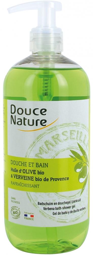 Douce Nature Marseille suihkushampoo, verbena