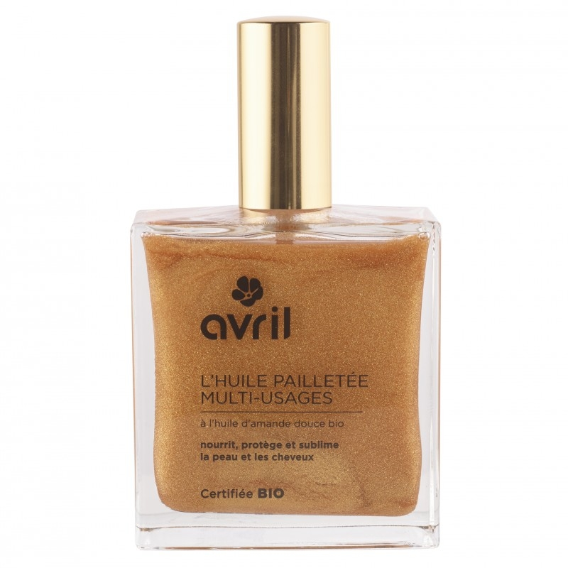 Avril Shimmering Dry Oil kasvoille/vartalolle/hiuksille