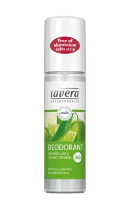 Lavera lime & verbena deospray