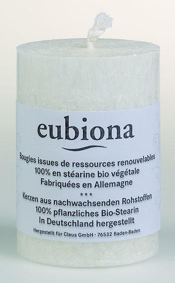 Eubiona pöytäkynttilä 56x80 valkoinen