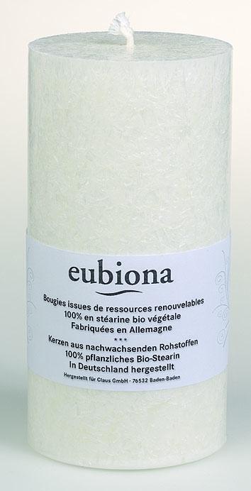 Eubiona pöytäkynttilä 74x150 valkoinen ISO