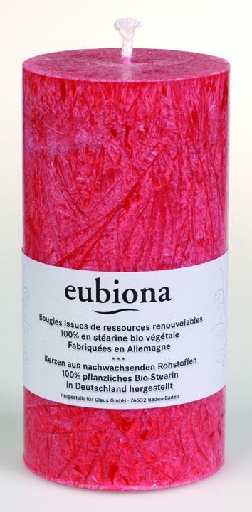 Eubiona pöytäkynttilä 74x150 punainen ISO