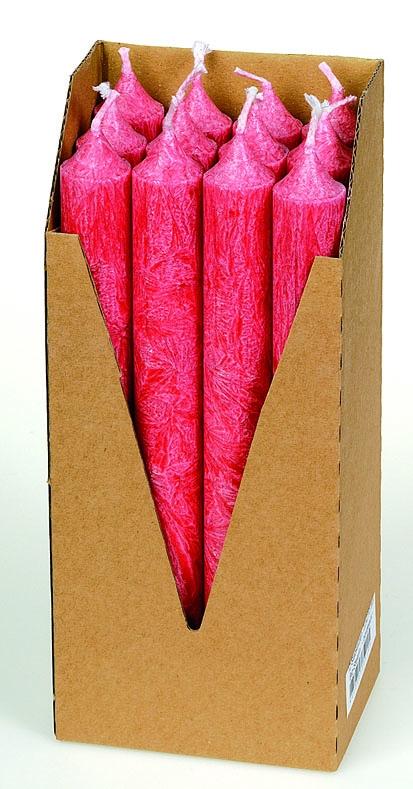 Eubiona kruunukynttilät 12 kpl: punainen