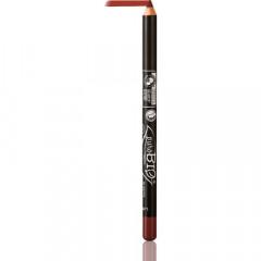 puroBIO cosmetics Silmien- ja huultenrajauskynä viininpunainen