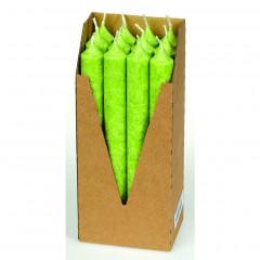 Eubiona kruunukynttilät 12 kpl: vihreä