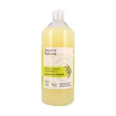 TUPLAPAKKAUS! Douce Nature nestesaippua Verbena, täyttöpakkaus 2 x 1000 ml