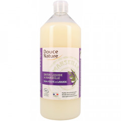 Douce Nature nestemäinen marseillesaippua laventeli, täyttöpakkaus