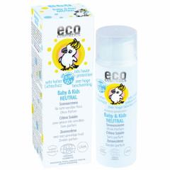 Eco Cosmetics hajusteeton aurinkovoide vauvoille ja lapsille (SK50+)
