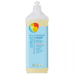 Sonett nestesaippua sensitive, täyttöpakkaus