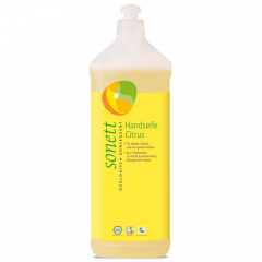 Sonett nestesaippua sitruuna, täyttöpakkaus