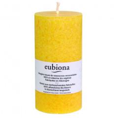 Eubiona pöytäkynttilä 74x150 keltainen ISO