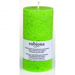 Eubiona pöytäkynttilä 74x150 vihreä ISO