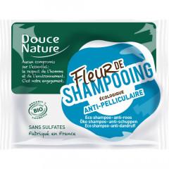 Douce Nature palashampoo hilsettä vastaan ja ärtyneelle hiuspohjalle