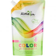 AlmaWin Color pyykinpesuaine, täyttöpussi