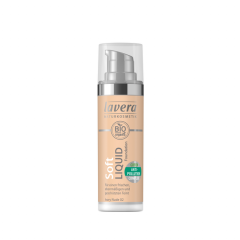 Lavera Soft Liquid Foundation meikkivoide - 02 Ivory Nude
