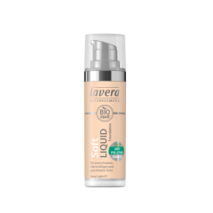 Lavera Soft Liquid Foundation meikkivoide - 01 Ivory Light