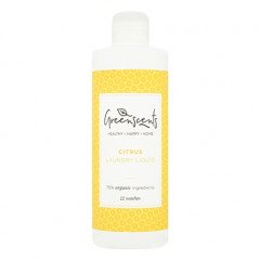 Greenscents pyykinpesuneste Citrus - näyte 60 ml