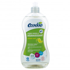 TUPLAPAKKAUS! Ecodoo astianpesuaine rasvaa vastaan, lime 2 x 500 ml