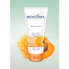 Biokosma suihkuemulsio aprikoosi & hunaja