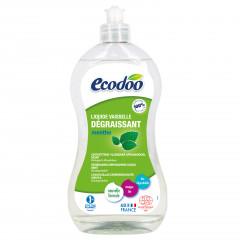 TRIPLAPAKKAUS! Ecodoo astianpesuaine rasvaa vastaan, minttu 3 x 500 ml