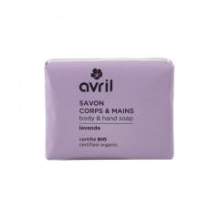 "Avril käsi- ja vartalosaippua Laventeli ""Lavende"""