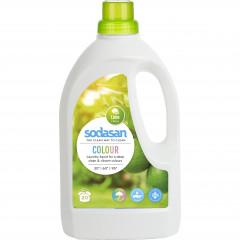 Sodasan pyykinpesuneste Color Lime, 1500 ml
