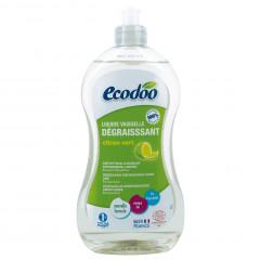 TRIPLAPAKKAUS! Ecodoo astianpesuaine rasvaa vastaan, lime 3 x 500 ml