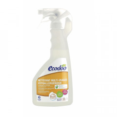 TUPLAPAKKAUS! Ecodoo RESPECT hajusteeton yleispuhdistusspray 2 x 500 ml