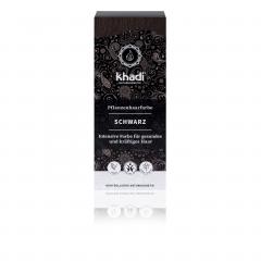 Khadi luonnollinen hiusväri Black