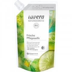 SÄÄSTÖPAKKAUS! Lavera nestesaippua lime-sitruunaruoho 4 x 500 ml