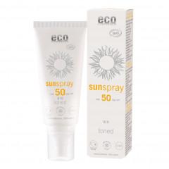 Eco Cosmetics sävytetty aurinkosuojasuihke Q10 (SK50)