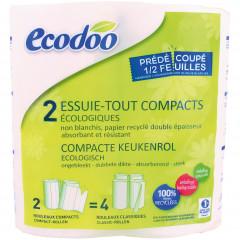 Ecodoo talouspaperi 2 rl (iso rullakoko)