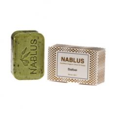 Nablus salvia oliiviöljysaippua