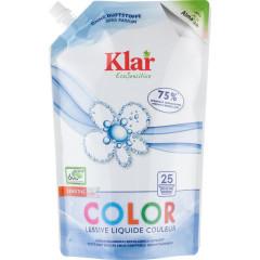 Klar hajusteeton pyykinpesuneste Color, täyttöpussi