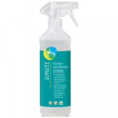 Sonett pintojen desinfiointiaine 500 ml + täyttöpakkaus 1000 ml