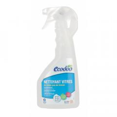TUPLAPAKKAUS! Ecodoo lasi- ja peilipintojen puhdistusspray 2 x 500 ml