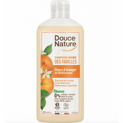 Douce Nature Appelsiininkukka shampoo, 250 ml