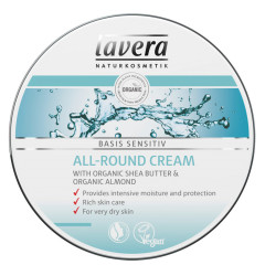 Lavera Basis Sensitiv All Round Cream -kosteusvoide