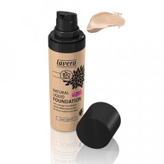 Lavera Natural Liquid Foundation meikkivoide - 01 Ivory Light
