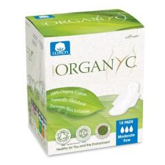 Organyc ohut päiväside 10 kpl